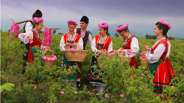 保加利亚和罗马尼亚的玫瑰之旅